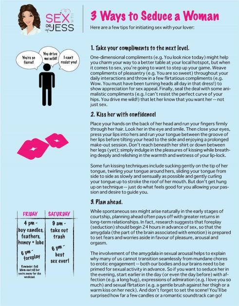 3 Ways to Seduce a Woman
