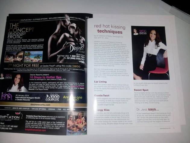 Calgary Taboo Show program book