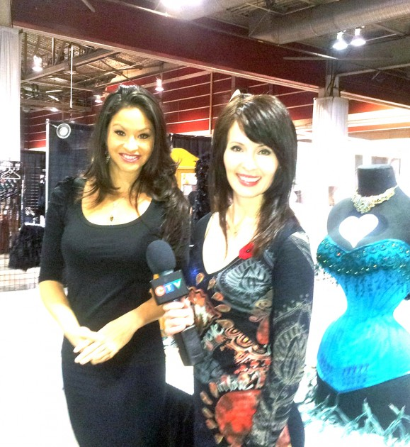 Dr. Jess interviewed by CTV at Calgary Taboo Show