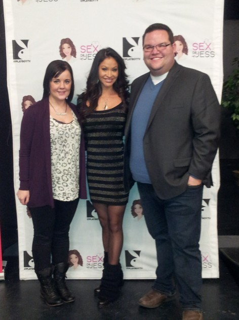Jared & Amanda with Dr. Jess at Grande Prairie