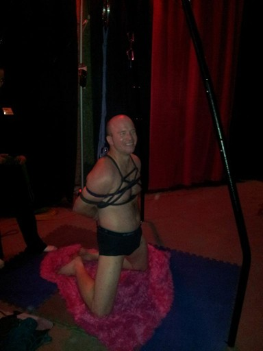 Bondage at the Edmonton Taboo Show