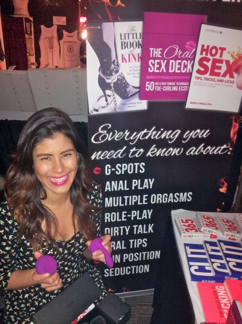 Samantha at the Halifax Sex Show
