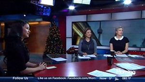 VIDEO: Sexy Times During the Holidays on The Morning Show