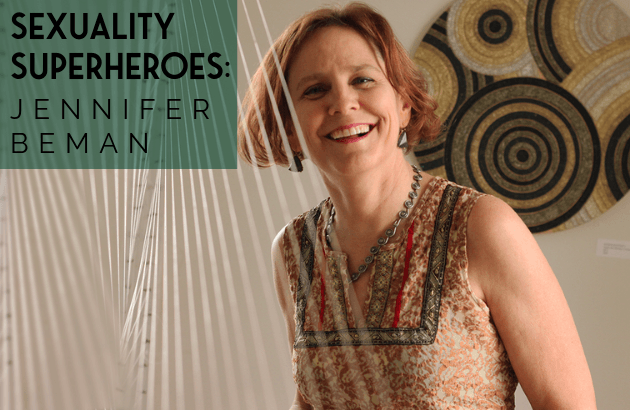 Sexuality Superheroes - Jennifer Beman