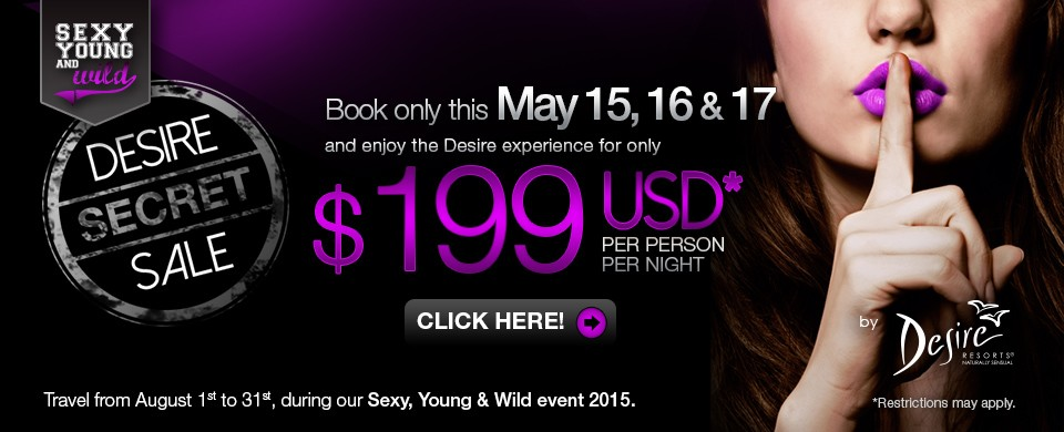 Desire Secret Sale