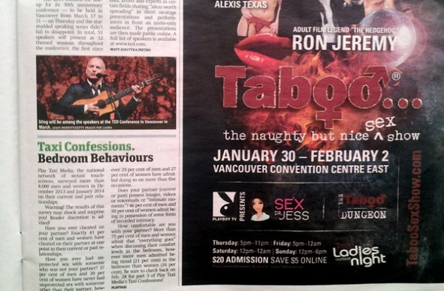 Vancouver Taboo Show